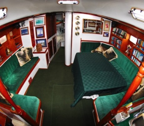 Island star inside cabin photo