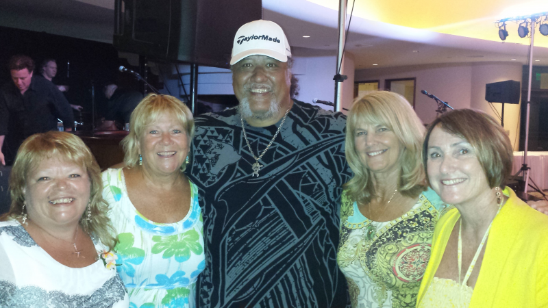 Willie K with MST Ladies, King K Golf Course