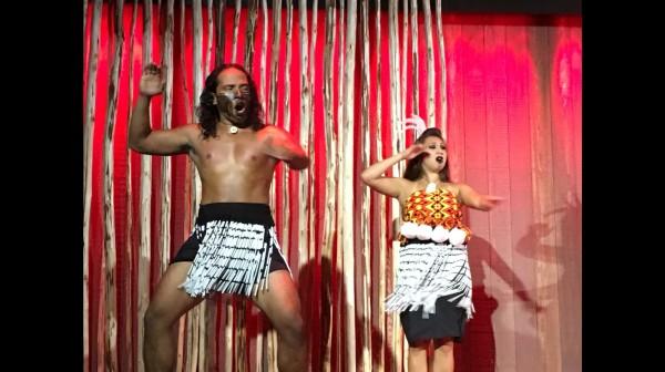 Feast luau hula show new Zealand dancers
