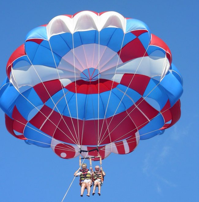Parasail Tandam in Beautiful Maui
