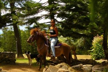 Horse back riding Maui