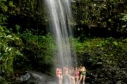 Waterfall hike Maui