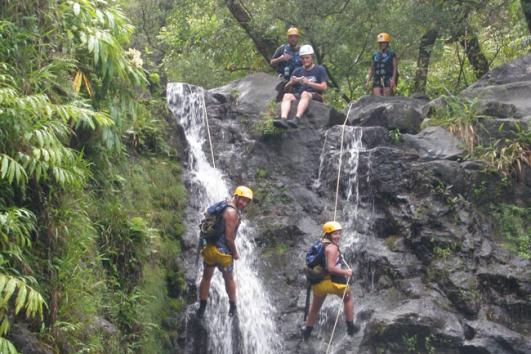 Rappelling Down Waterfalls on Maui, Hawaii Adventure Tours