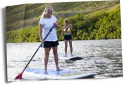 Stand Up Paddle Kauai with a hike