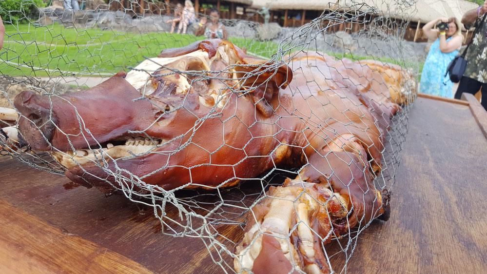 Imu Pig Grand Wailea Luau Honuaula