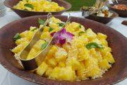 fresh pineapple Grand Wailea Luau Honuaula
