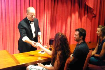 Warren and Annabelle's Magic Show Maui Food
