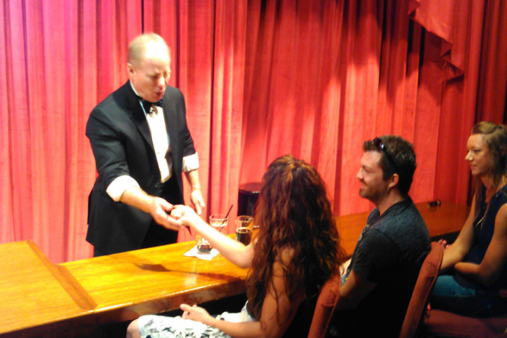 Warren and Annabelle's Magic Show Maui Food