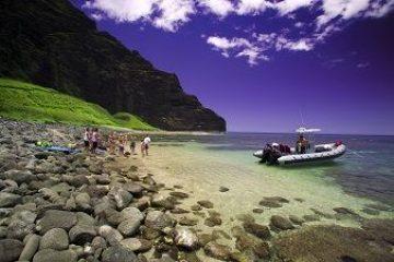 Captain Zodiac Rafting Kauai Map