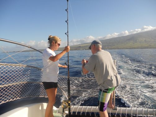 Paragon Sailing Charters Lanai Fishing