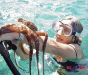 Ocean Riders Lanai Snorkel octopus
