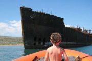 Ocean Riders Lanai Snorkel shipwreck