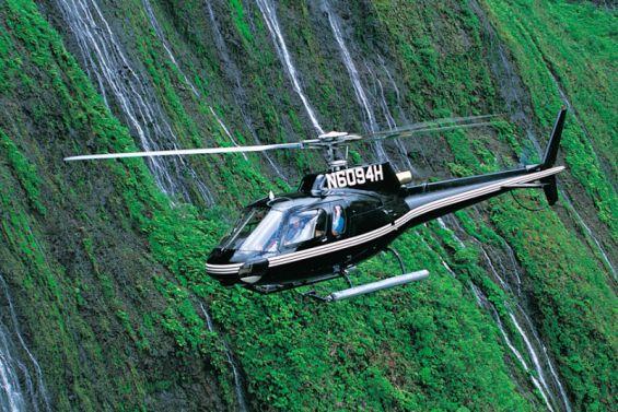 Sunshine Helicopters Molokai Waterfalls