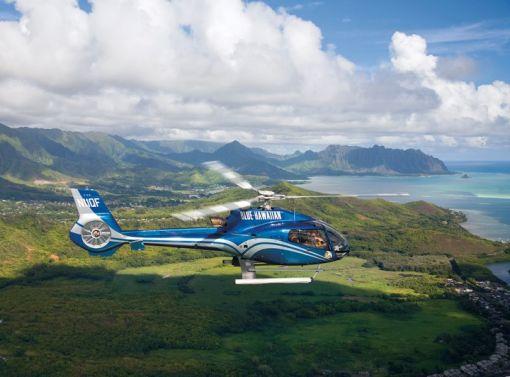 Blue Hawaii Helicopters Big island of Hawaii