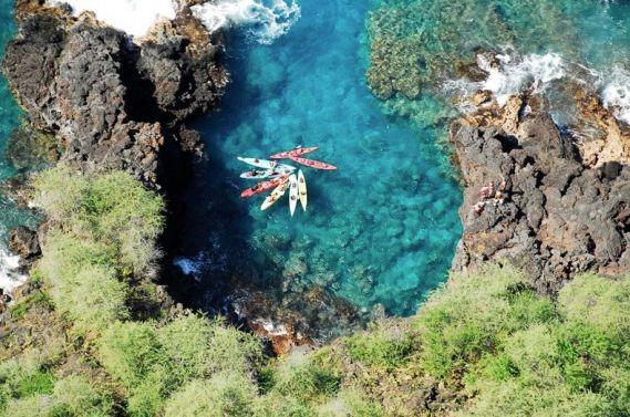 Big Island Kayak Sea Caves