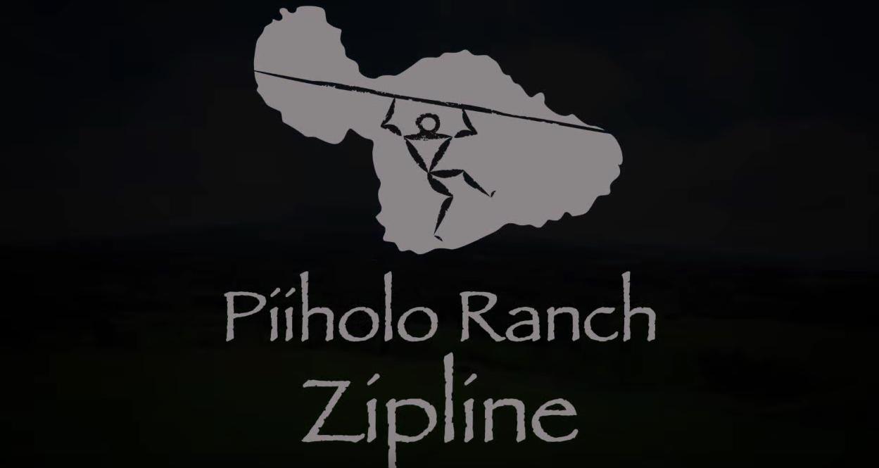 Piiholo Ranch Zipline Banner