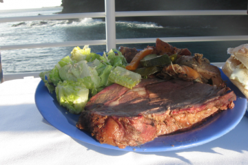 Quicksilversunset Dinner Cruise, Prime Rib