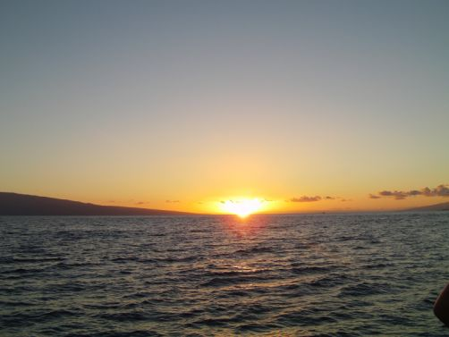 Sunset Cruise in Hawaii