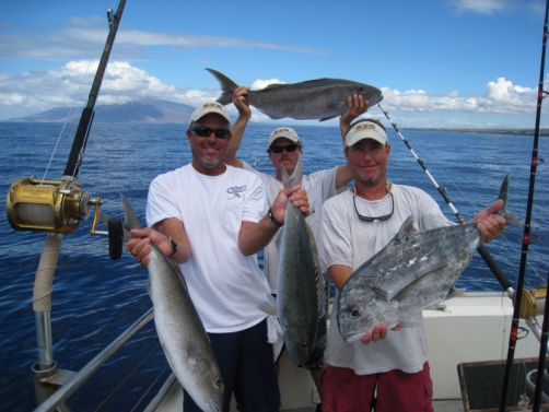 Maui hawaii tours discount specials 6 hr maui bottom for Maui bottom fishing