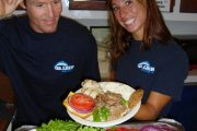 Quicksilver Molokini snorkel tour BBQ lunch
