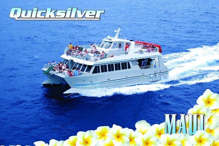 Quicksilver Molokini snorkel boat ad