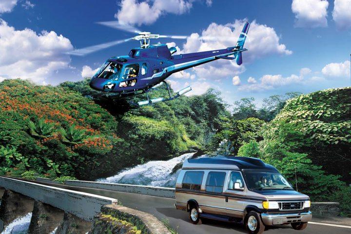 Hana Sky Trek, Hana Van Tour Helicopter