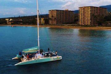 Sea-Maui-Kaanapali-Sailing-catamaran