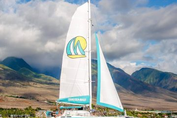 Sea maui Kaanapali Sailing catamaran