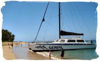 Gemini Sailing Catamaran Kaanapali Beach Maui Hawaii