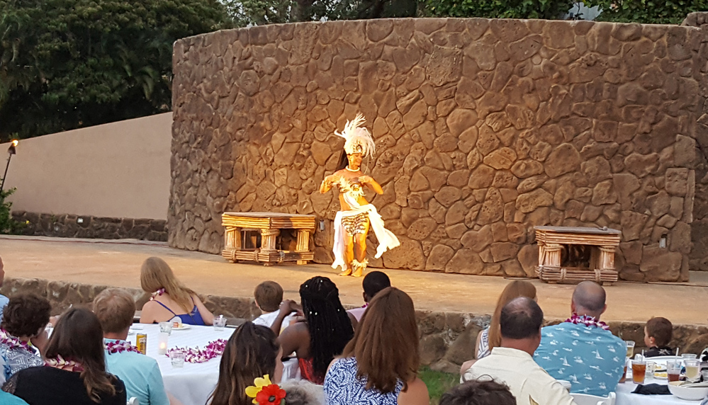 Grand Wailea Luau Hula Lady