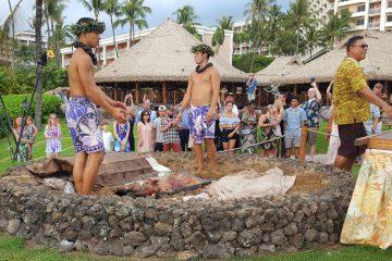 Grand-Wailea-Honuaula-Luau-Imu-Pig-ceremony