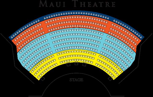 Burn'n Love Elvis show Maui Seating Chart