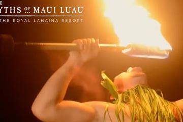 Royal Lahaina Luau for Christmas Holidays