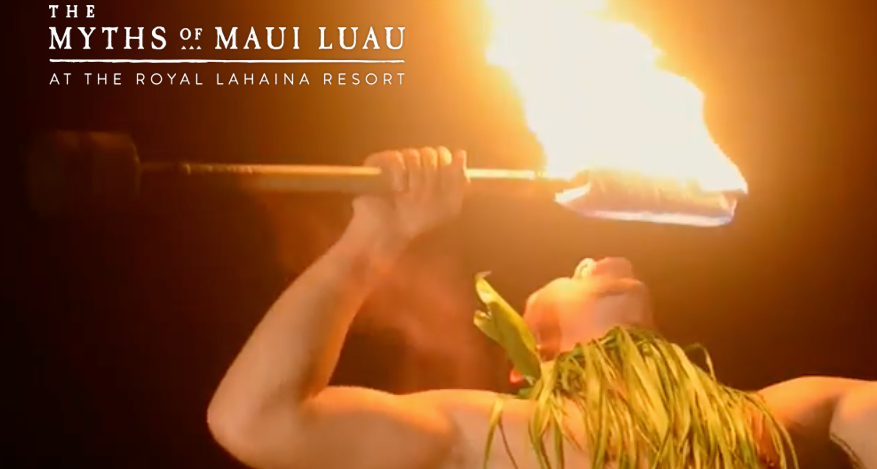 Royal Lahaina Luau for Christmas Holidays
