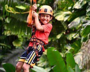 Jungle-Zipline