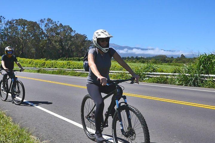 Bike ride maui